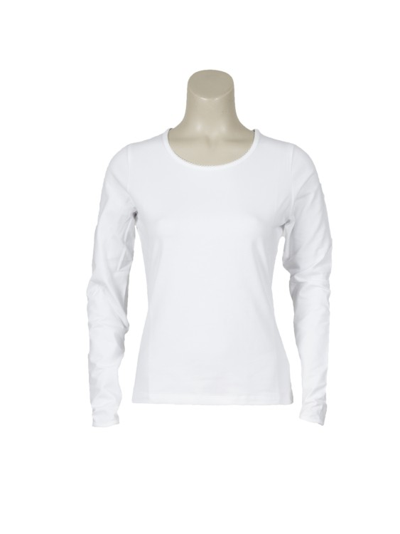 T-shirt kartel basic wit