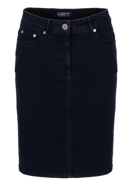 Rok Claudia Kort denim