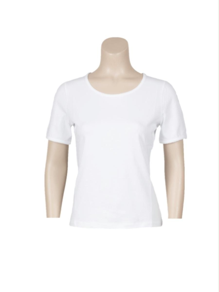 T-shirt kartel basic km wit